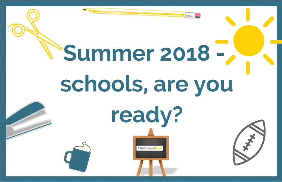 What's happening in Education in Summer 2018?