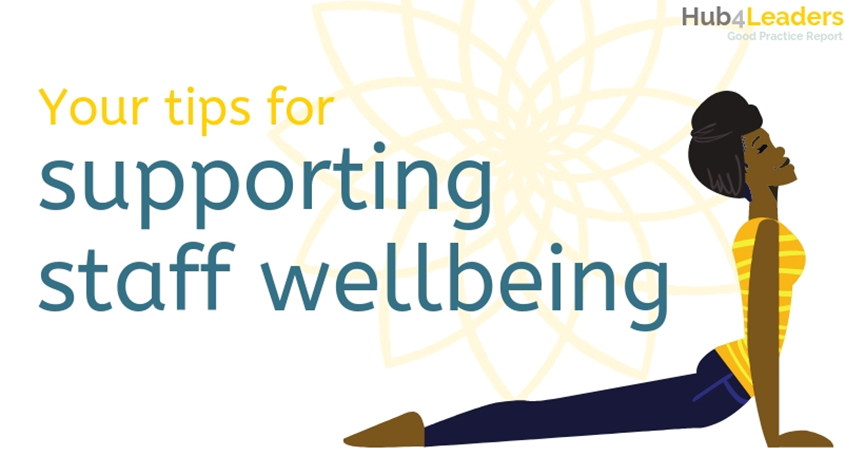 Supporting Staff Wellbeing: A Good Practice Report